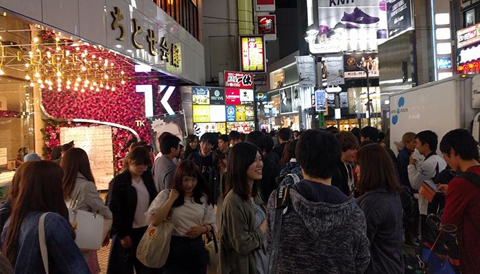 TK渋谷のナンパ情報