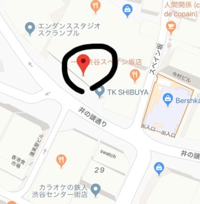 肉横丁の場所