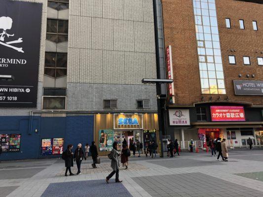 歌舞伎町シネシティ広場らへん