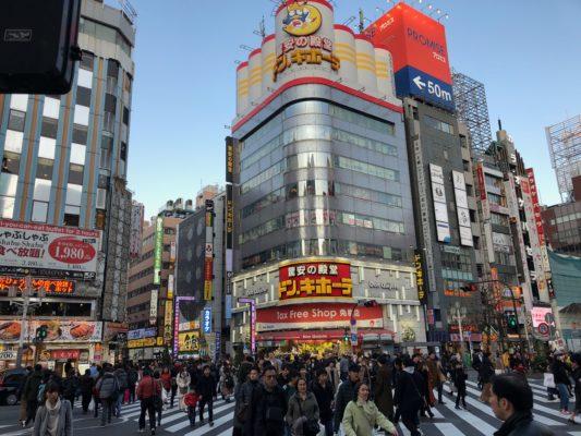 歌舞伎町ドンキ前