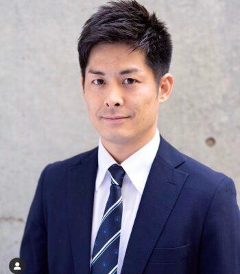モテない髪型(ビジネスマン風)
