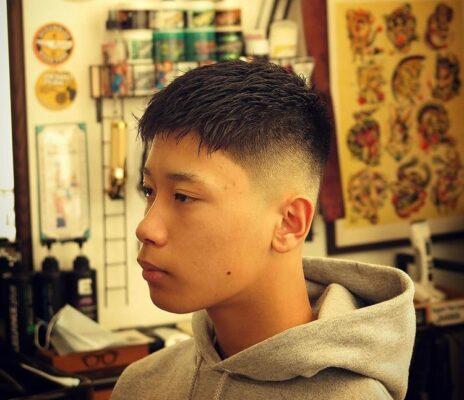 モテない髪型(刈り上げ)